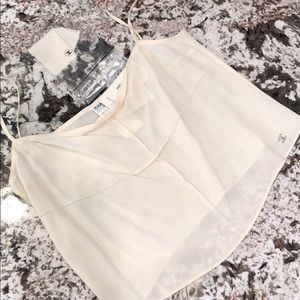 CHANEL crop top camisole